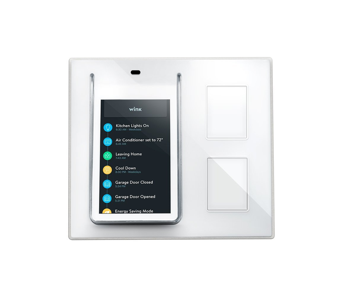 Wink Relay – Smart Home Wall Controller - IoT - Internet of Things